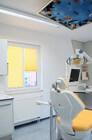 Fenster Plissee in Gelb