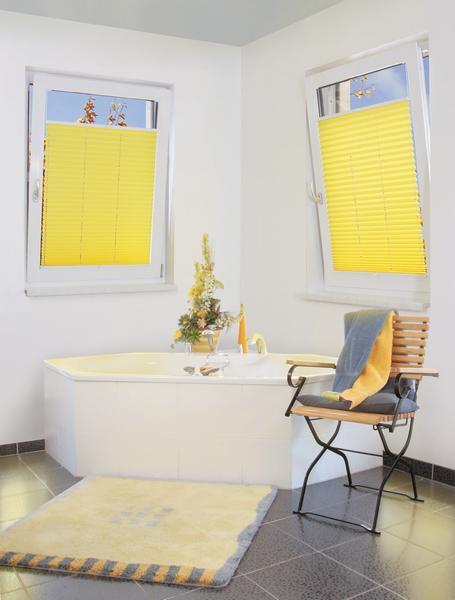 Klemm-Plissee - hochwertiger und vollwertiger Licht- und Sonnenschutz