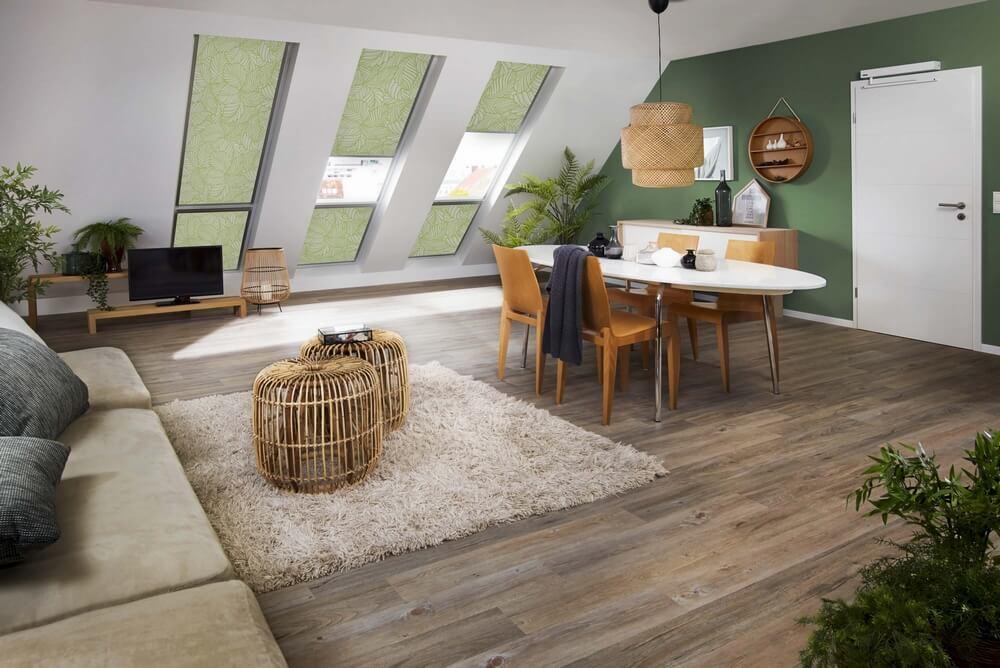 Wohnraumgestaltung leicht gemacht mit Seitenzug-Rollos