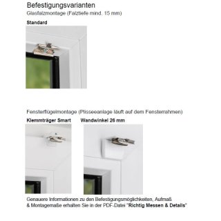 Fensterplissees 32.512.80 - VS1 blickdicht~5